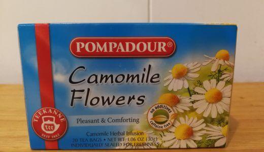 ポンパドール「カモミールティー」をレビュー。カフェインゼロでおすすめ!