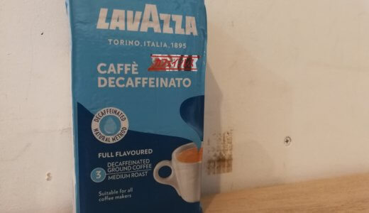 「ラバッツア デカフェ」は濃いめでしっかり苦いコーヒーです