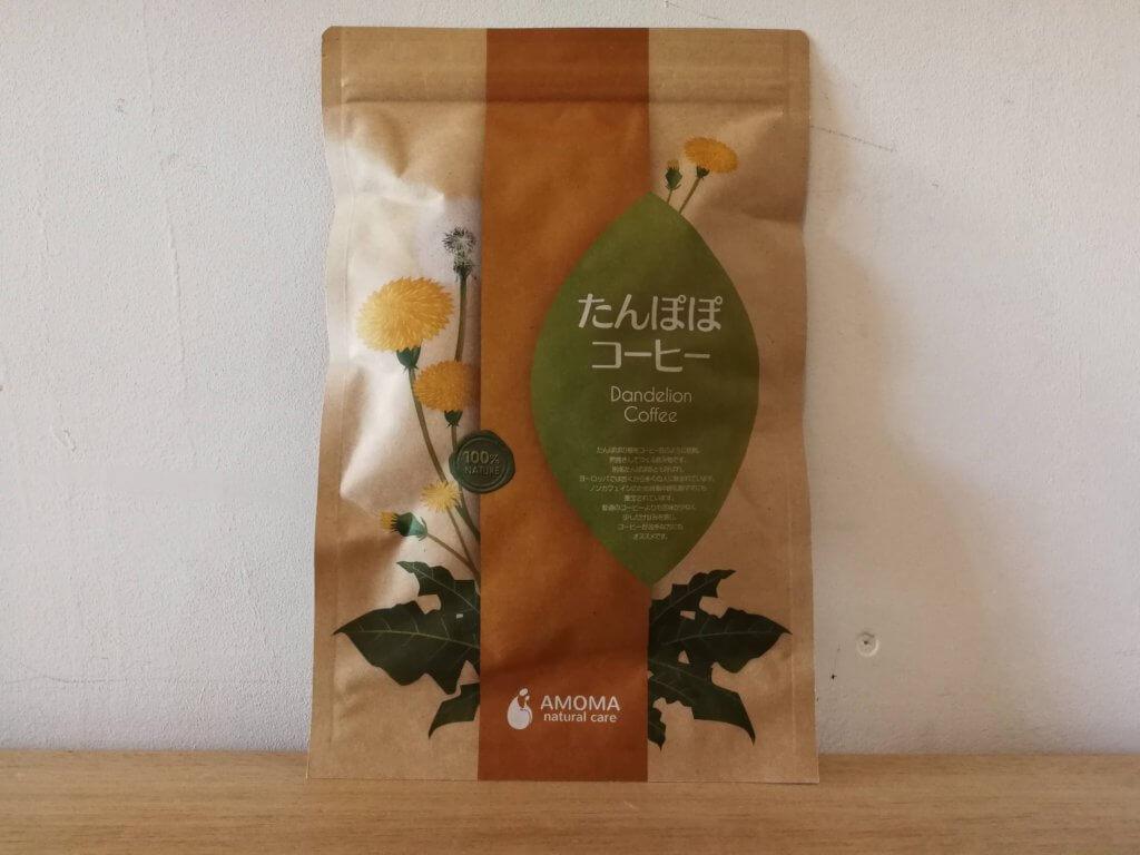 たんぽぽコーヒーのパッケージ